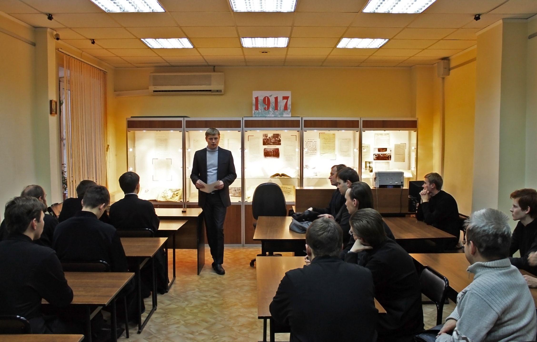 Студенты Вологодской духовной семинарии посетили Государственный   занимающихся написанием курсовых и выпускных квалификационных работ на исторические темы оно вызывает наибольший интерес